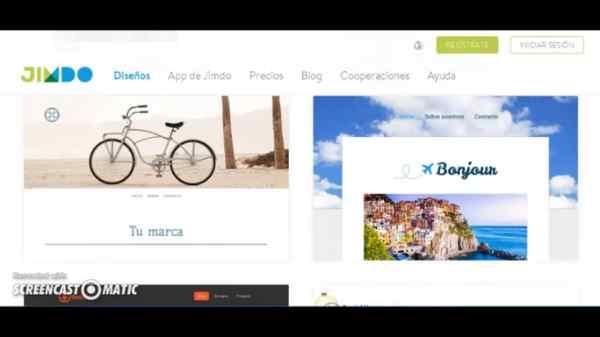 Herramientas online para crear portafolios