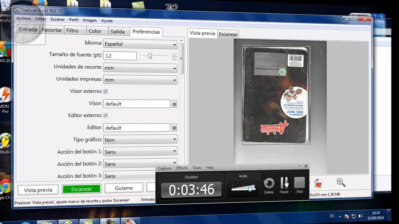 programa para escanear series