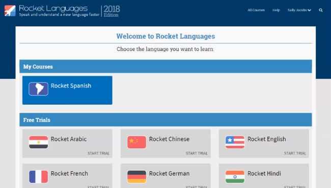 Descargar Rocket Languages