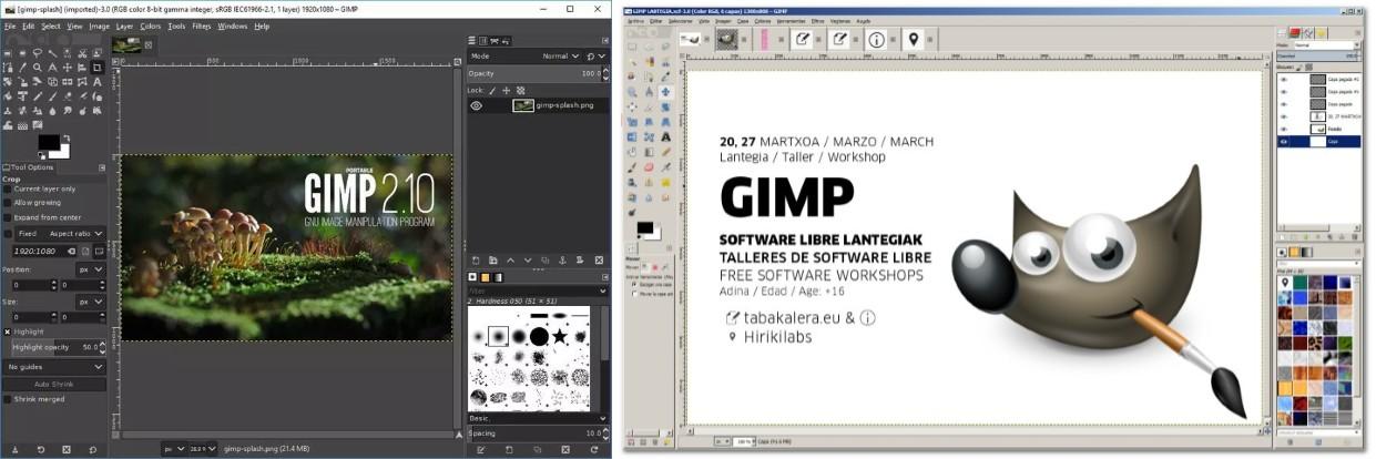descargar programas para fotomontajes gimp