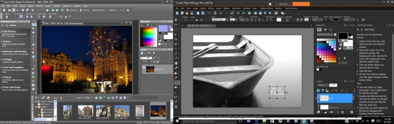 programas para editar fotos gratis paintshop