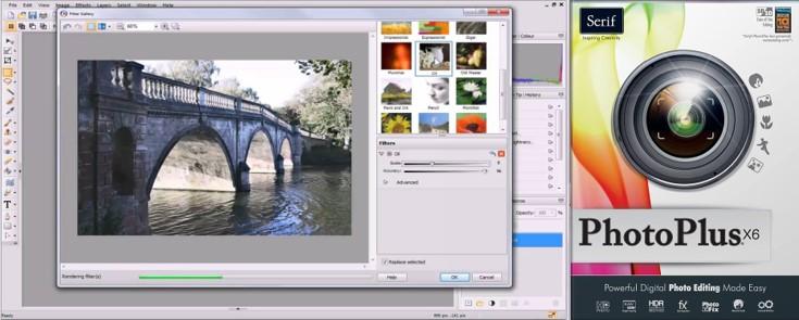 características del programa photoplus 6