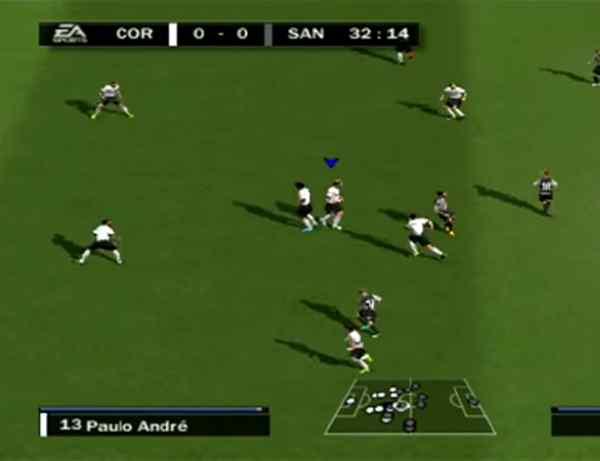 emulador de PS2 futbol