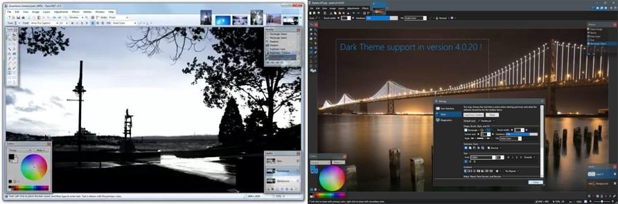 programas para retocar fotos paint.net