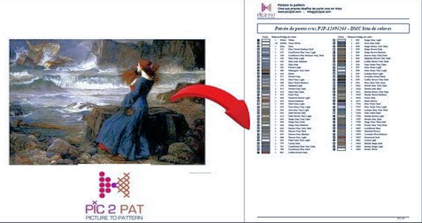 Pic2Pat - programas de punto de cruz profesional gratis